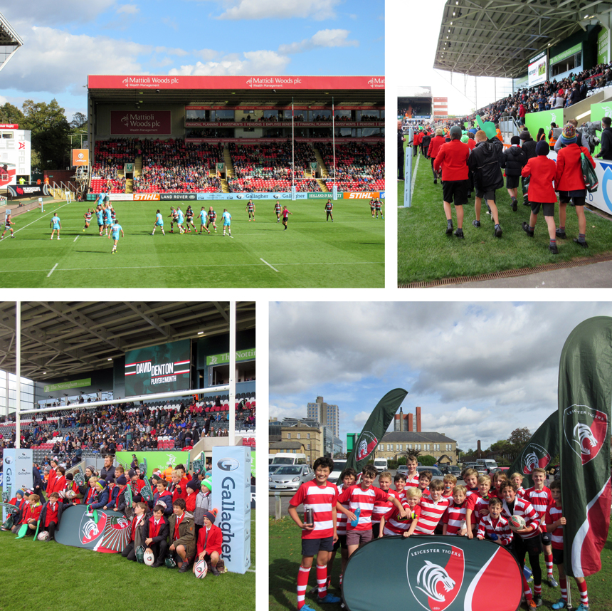 Leicester Tigers Rugby Football Club Day Trip 2018