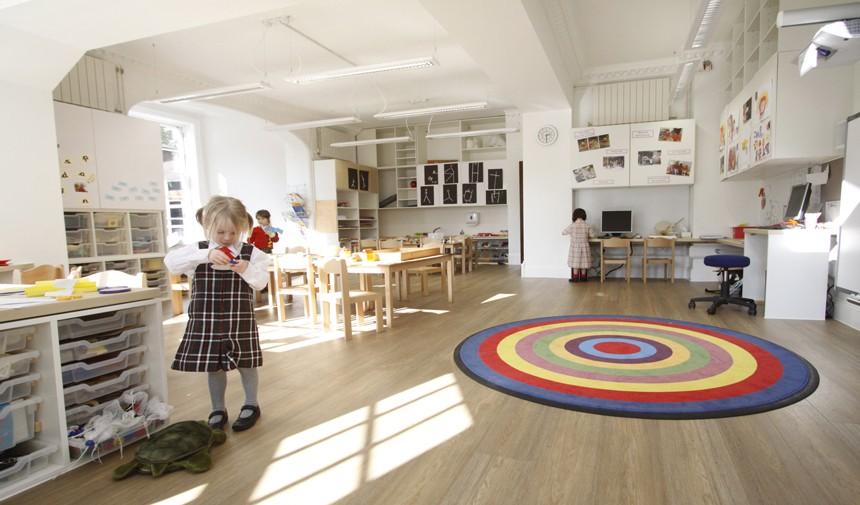 Classroom Design Uk ~ New kindergarten classrooms st john s college school