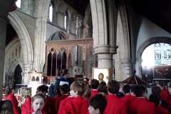 Form 3 visit St Giles Church in Cambridge