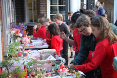 Byron House Harvest Festival, Charitable donations for Cambridge Food Bank and Harvest competition