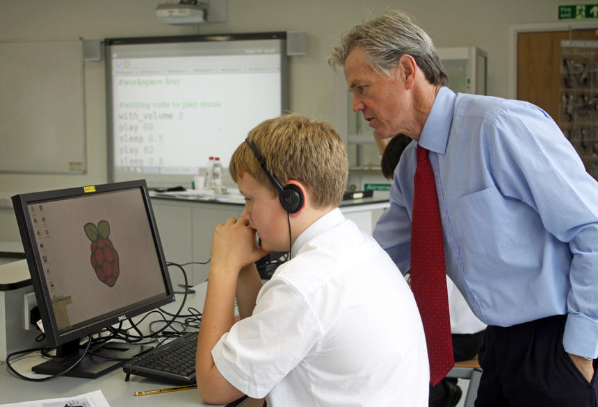 BBC Films Raspberry Pi in Action | St John's College School